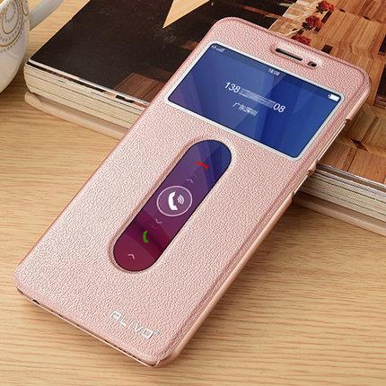 size 40 bd432 96612 Vivo V5 V5S Smart Leather Flip Case Casing Cover + Tempered TPU SP