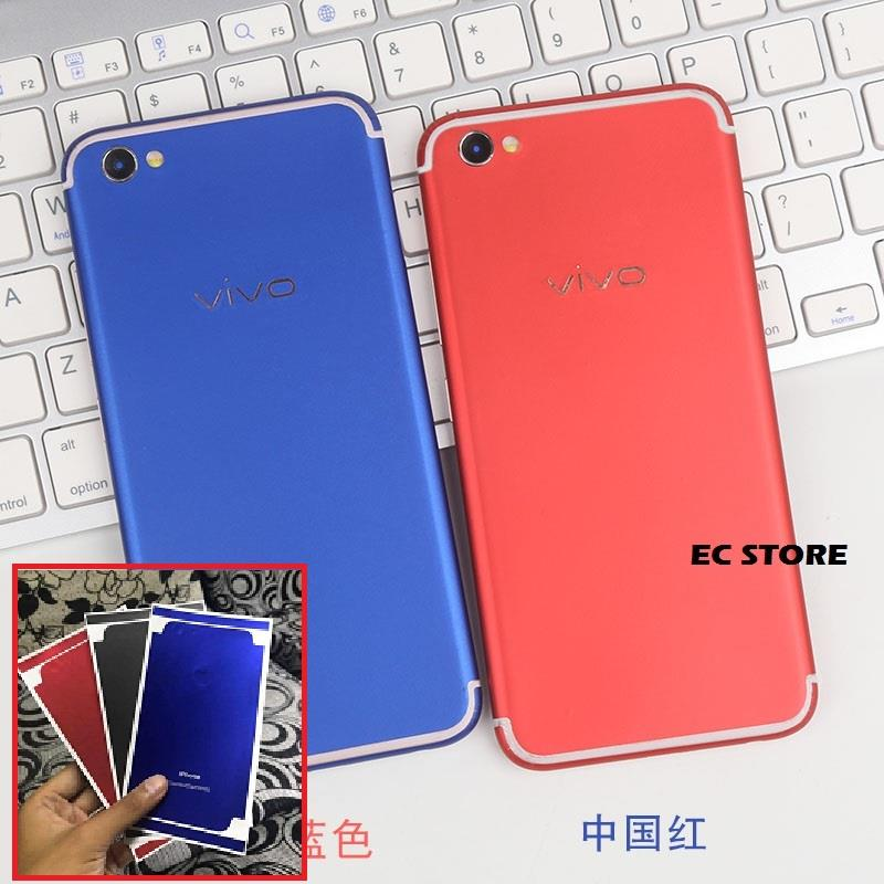 big sale 33ea0 7093e Vivo V5 V5s V5 Plus Y55 Y55s Y53 Matte Red Conversion Sticker Skin