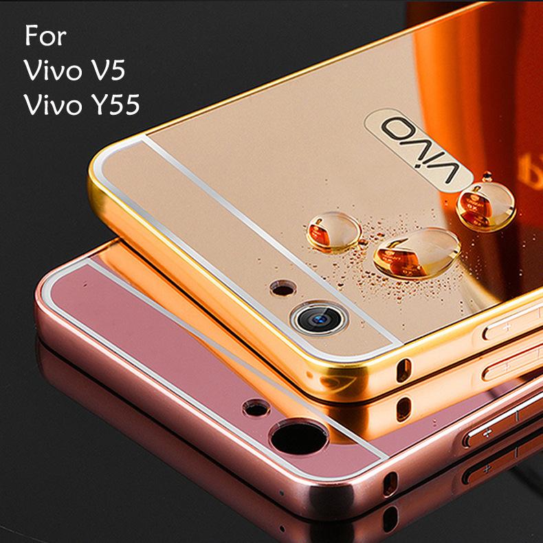 Vivo V5 X9 Vivo Y55 Y66 Mirror Cover Case Casing Housing