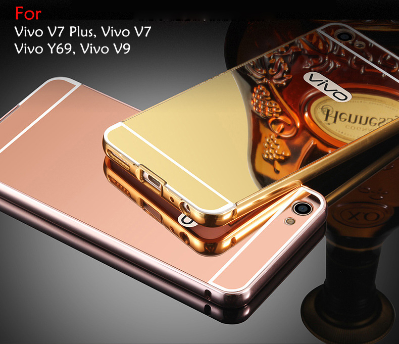 brand new cb5e8 0bc0c Vivo V9 Vivo V7 Plus V7 Vivo Y69 Mirror Hard Case Cover Casing