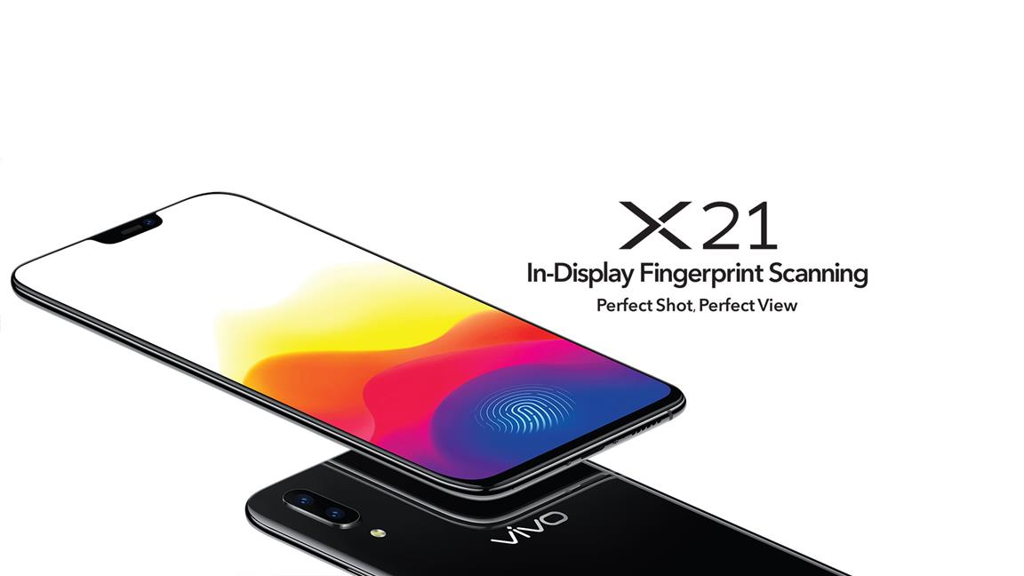 VIVO X21 - IN-DISPLAY FINGERPRINT SCANNING (READY STOCK)