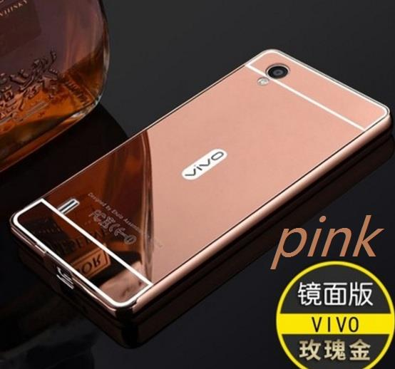 Smile Flip Cover Case Untuk Vivo Y15 Gold Daftar Harga Terlengkap Source · VIVO Y13 Y13L metal bumper back cover mirror finish casing