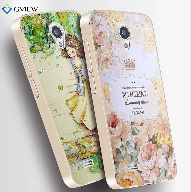 VIVO Y22 3D Relief & Metal Frame Back Case Cover Casing + Free Gift?