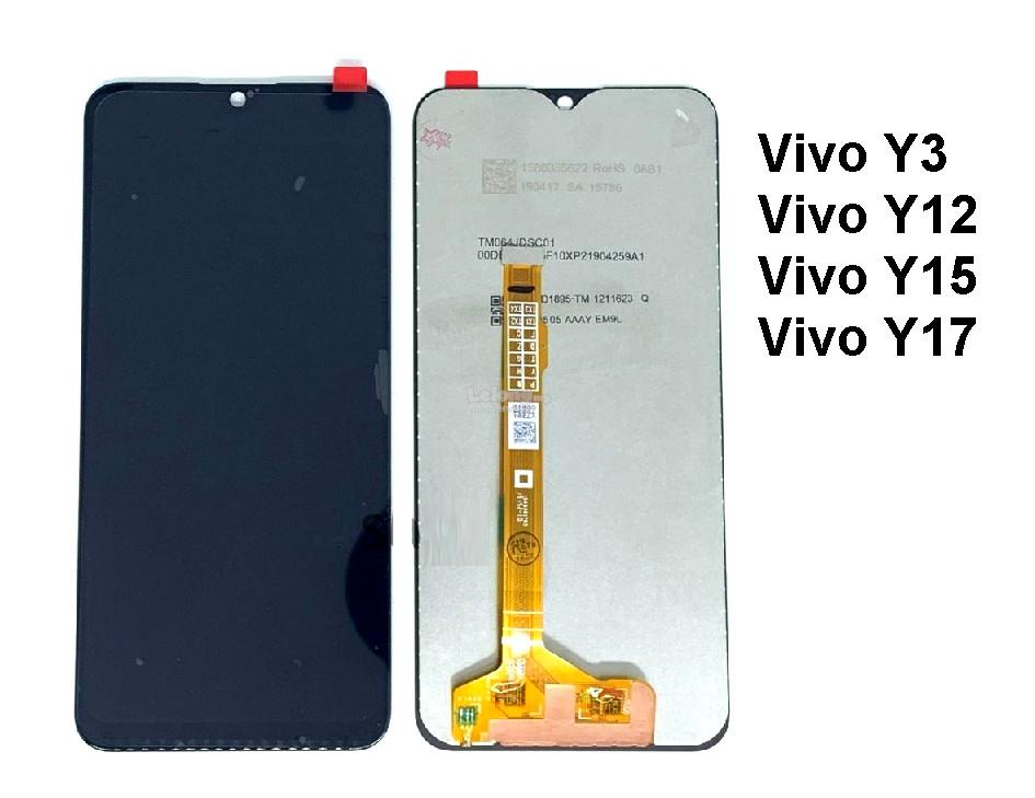 Vivo Y3 Y12 Y15 1901 Y17 1902  2019 LCD Digitizer Touch Screen Glass