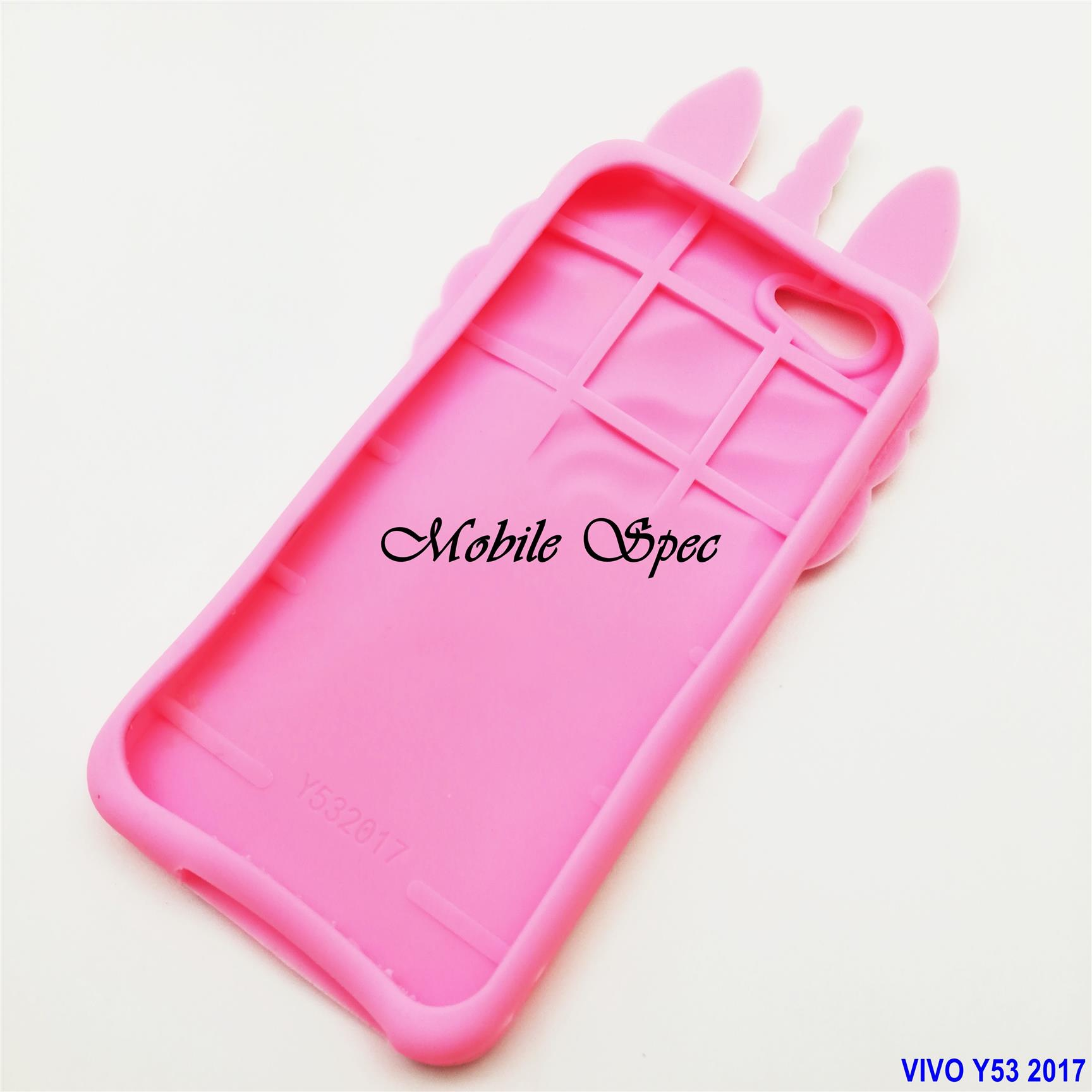 Vivo Y53 2017 Unicorn Soft Silicone Back Cover Case
