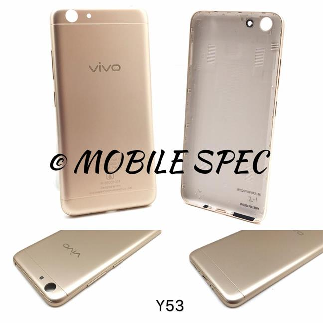 VIVO Y53 BATTERY BACK COVER HOUSING REPLACEMENT CASE (GOLD)