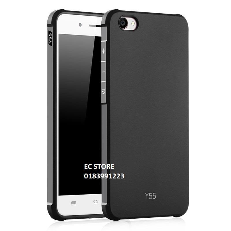 detailed look 24e1b e9170 Vivo Y55 Y66 Y69 V5 V5 Plus Black Business Silicon TPU Case Cover