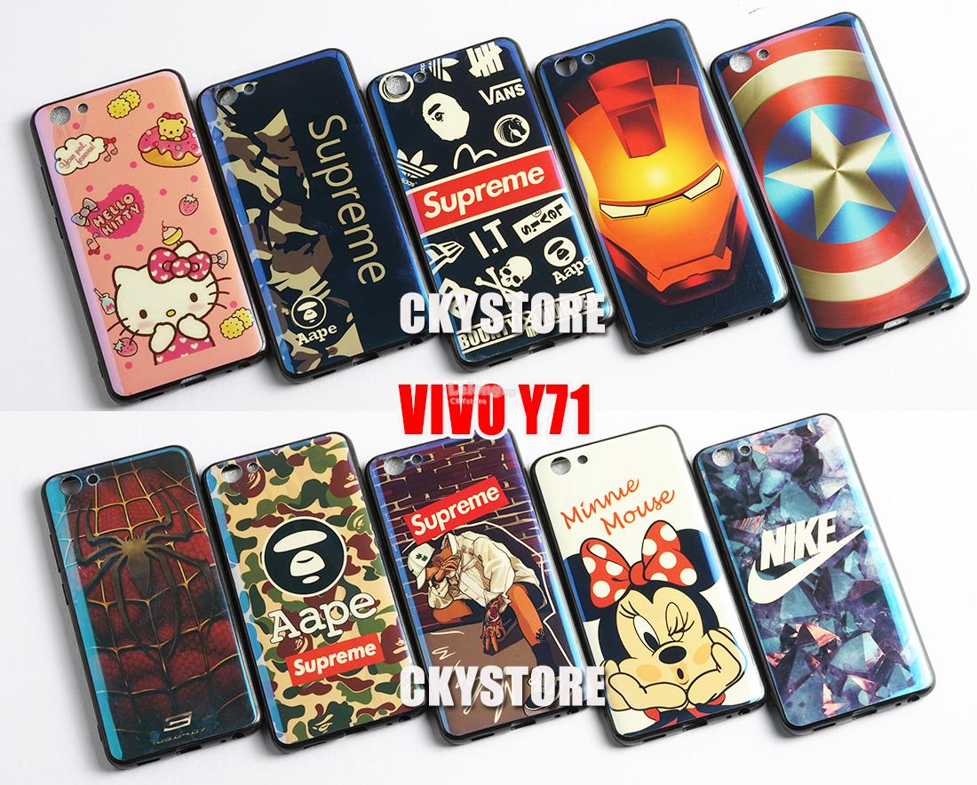 check out ab65d 9fe12 VIVO Y71 BlueLight EDITION Limited Back TPU Case Cover