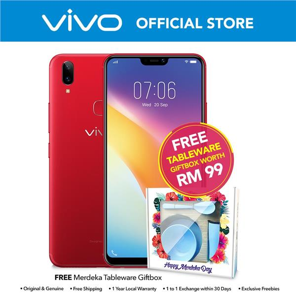vivo Y85 Dual Cam Rear Cam 13MP+2MP/Front Cam 16MP