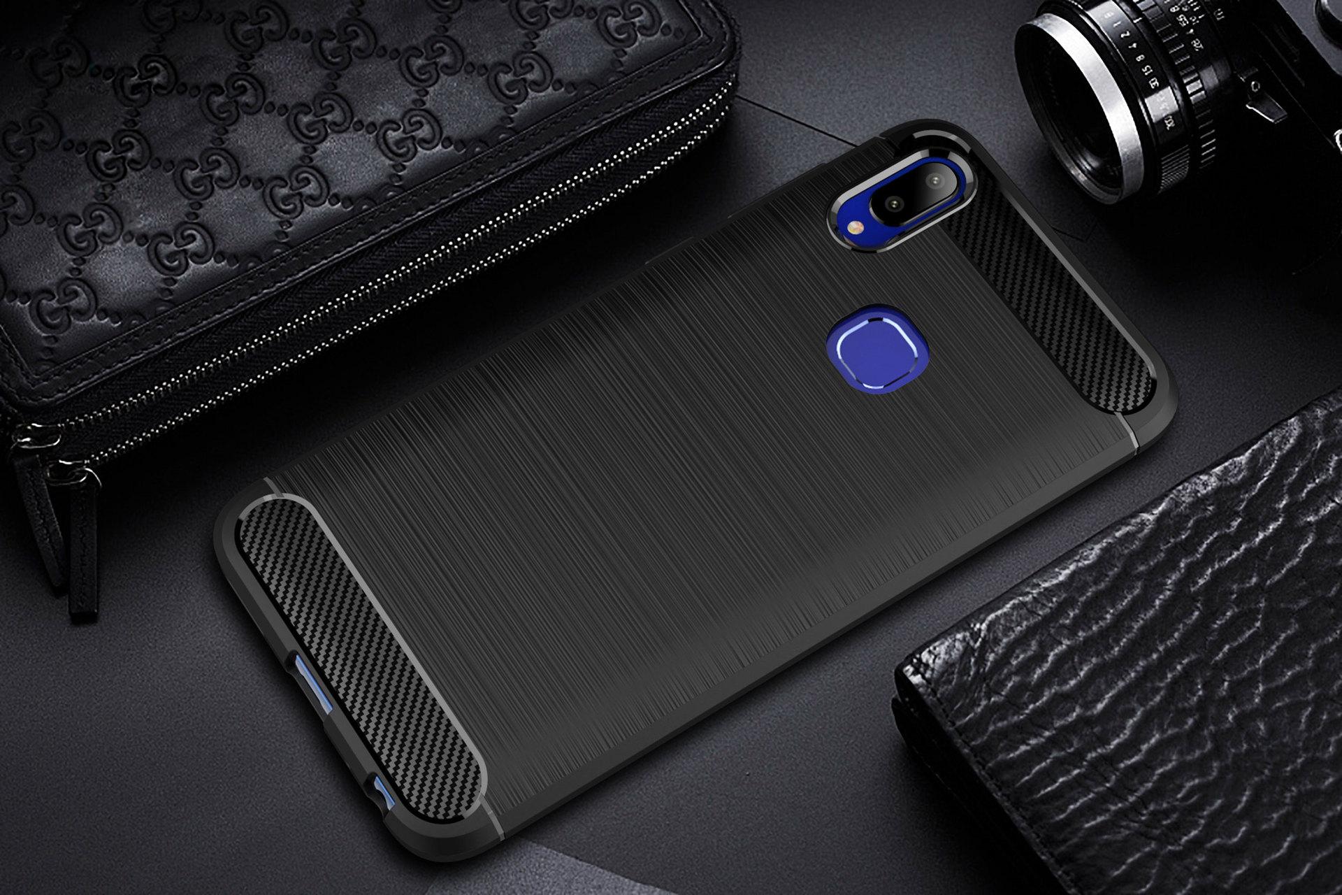 Vivo Y91 Y91i Y95 Y81 Y81i TPU Silicone Soft Case Cover Casing Fiber B