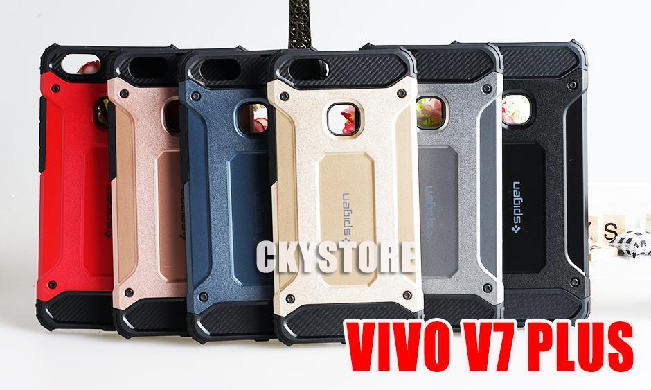 outlet store f1202 07458 VIVO Y91i V11 V11i Y71 Y81 Y85 V9 Y65 Y69 V7 PLUS SPIGEN CUSHION Case