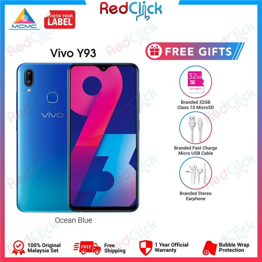 Vivo Y93 3gb 32gb 3 Free Gift Worth Rm59