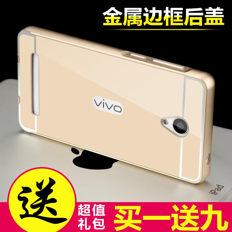 vivoY28L Vivo y28L y28 y28l Mirror Metal Bumper Case Cover Casing