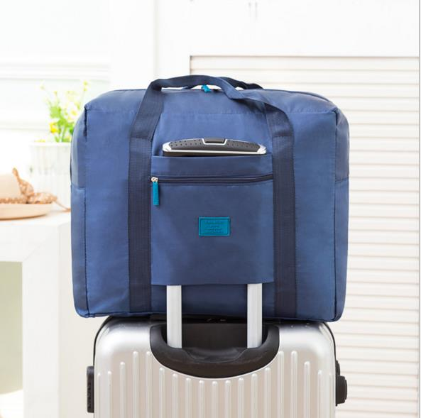 Vizo Easy Carry Travel Luggage Bag Foldable Light Weight Big Storage !