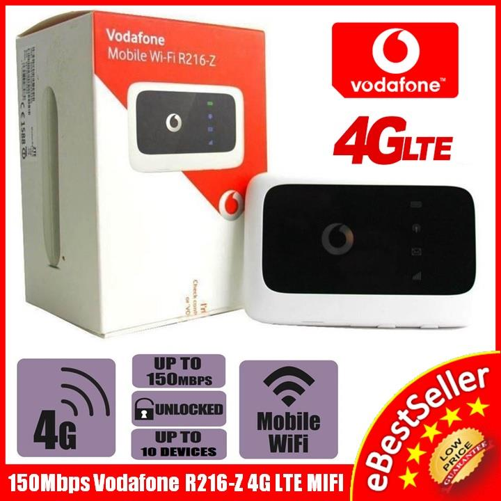 Vodafone R216-Z 4G LTE 3G 150Mbps ZTE Mobile Wifi R215 E589 W800 760S