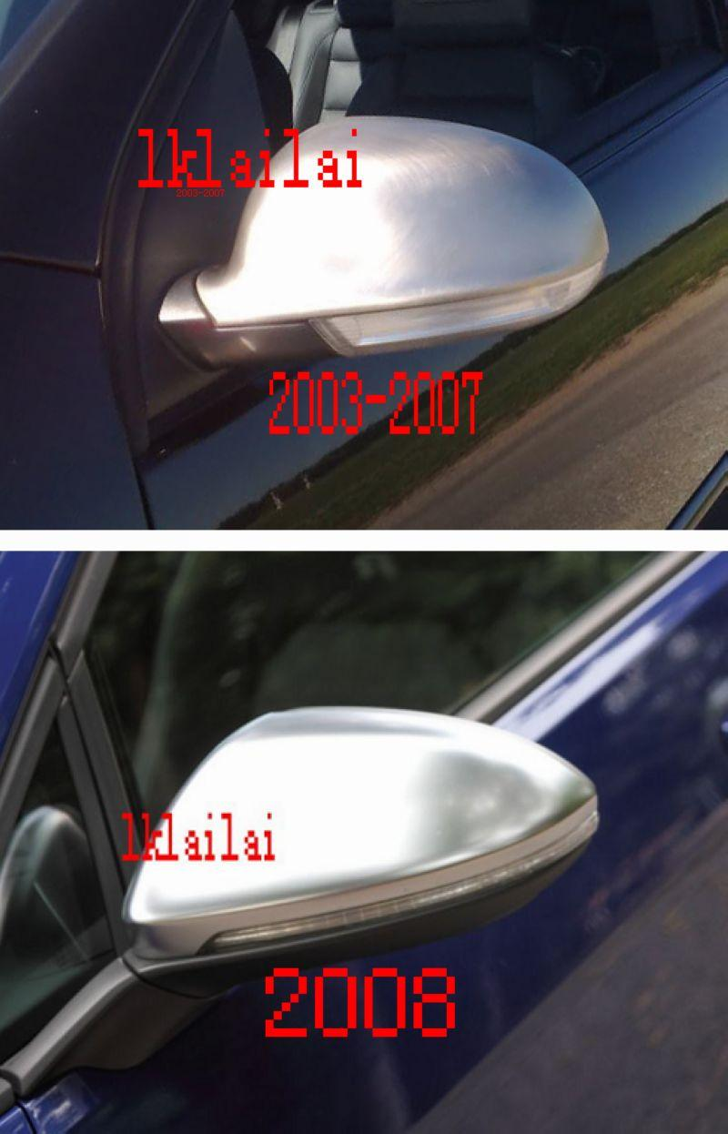 Volkswagen Golf '03-07 / '08 Door Mirror Cover W/Matt Coating