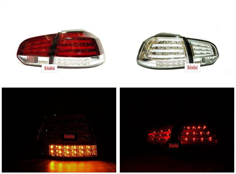 Volkswagen Golf 6 09-11 Full Light Bar LED Tail Lamp w LED Signal