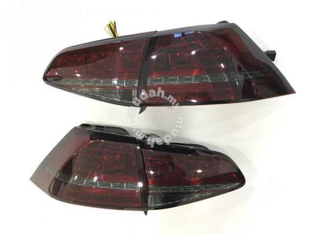 Volkswagen Golf 7 12-17 Led Tail Lamp Red