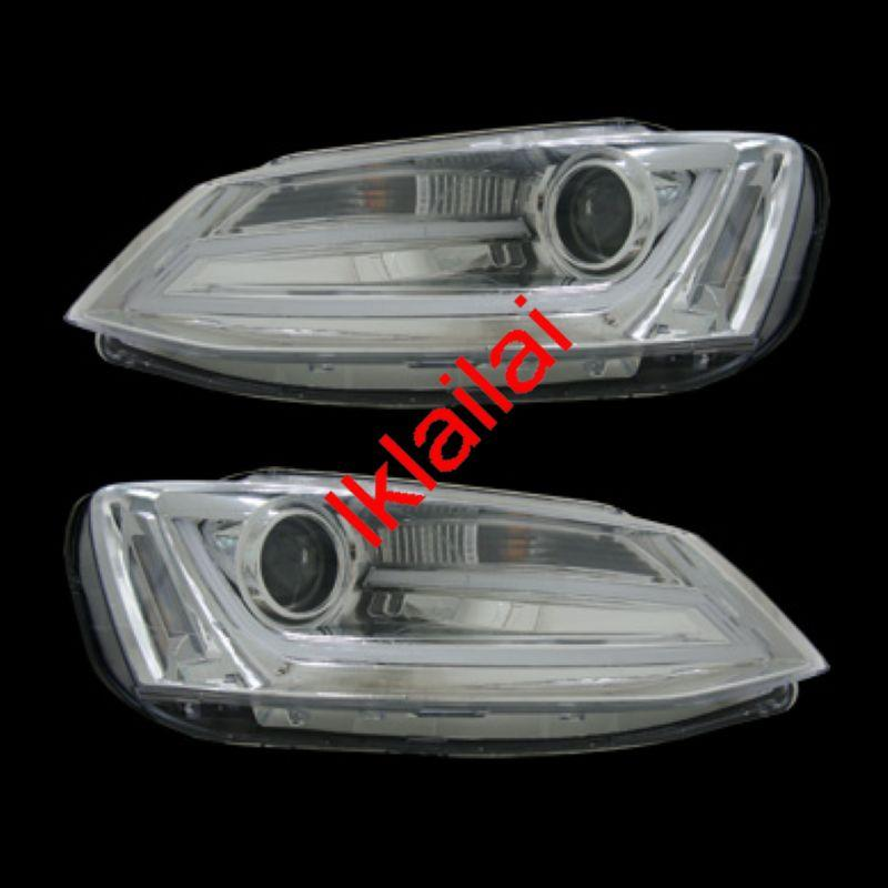 Volkswagen Jetta `12 Cool Starline DRL Projector Head Lamp [Per Pair]