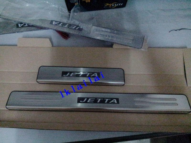 Volkswagen Jetta Door / Side Sill Plate With LED Light [4pcs/set]