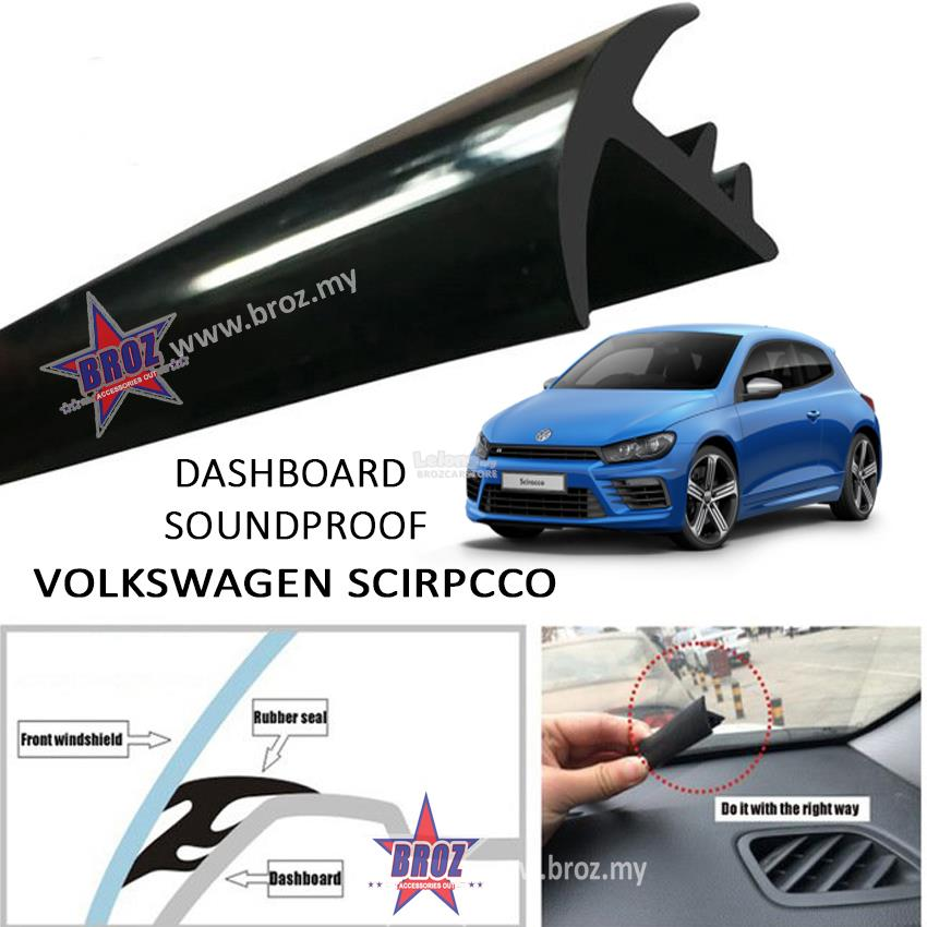 Volkswagen Scirocco T Shape Car Sound Insulation Sound Proof