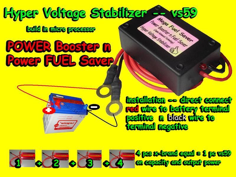Voltage JIMAT Minyak + POWER anyCAR+ Toyota Vios Camry  Altis Wish Wald Yaris