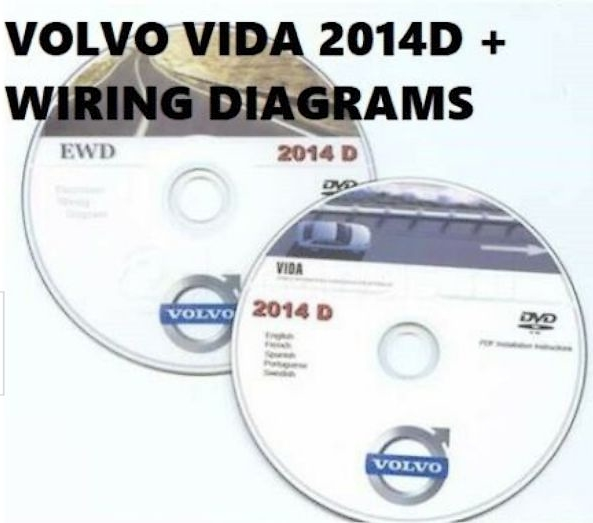 Volvo VIDA 2014D Main Diagnostic Software + EWD Wiring Diagrams