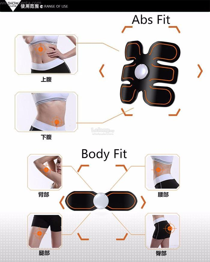 VONMIE BODY FIT & ABS MUSCLE TRAINER FULL SET