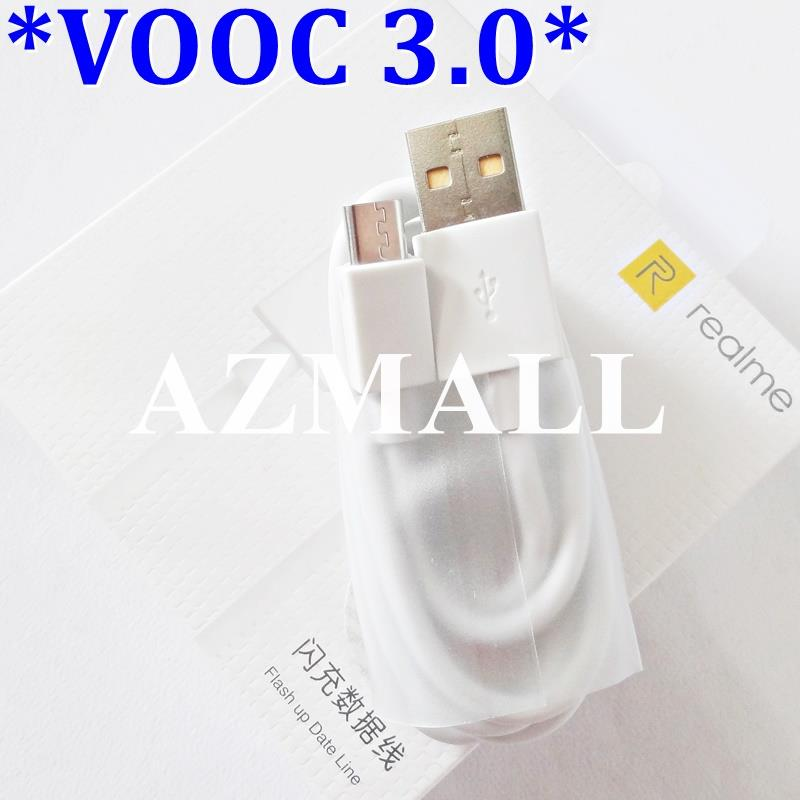 (VOOC 3.0) 20W Flash Charge Micro USB Cable for Realme 3 2 Pro 5 5s C1