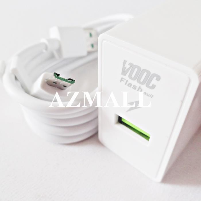 (VOOC) Flash Charger Mini AK779 Cable Oppo F9 Find 7 7A R9s R7 R15 Pro