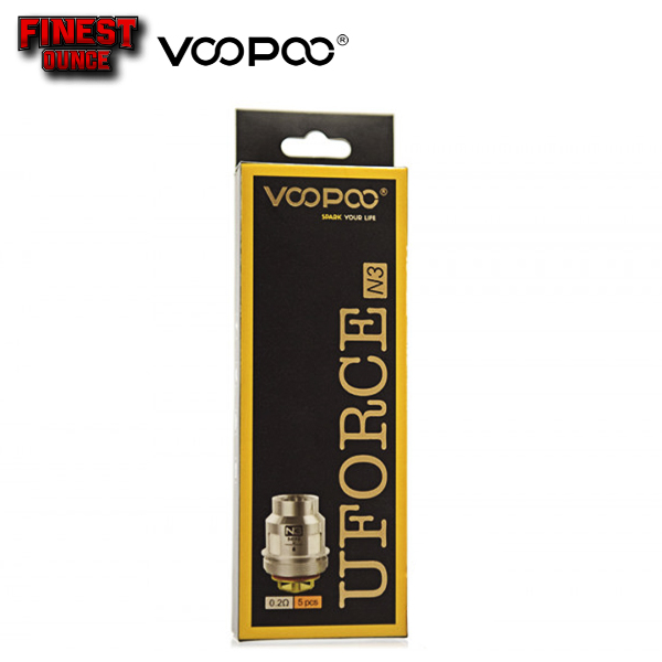 VOOPOO UFORCE Replacement Coil Head OCC (5pc) Drag 2 Mini **ORIGINAL