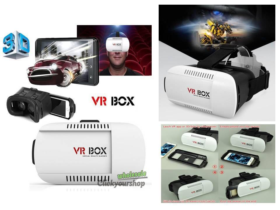 VR Box VER 3.0 3D Glasses Virtual Reality Headset