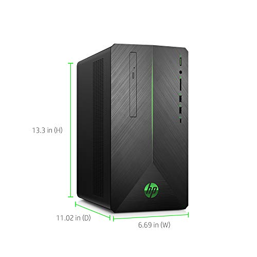 VR Ready HP Pavilion Gaming PC Desktop Computer, Intel Core i5-9400F, NVIDIA G