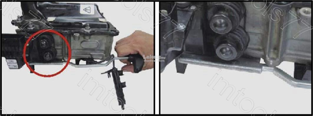 VW Audi 7-Speed DSG Gearbox Assembly Lever Tool T10407 (4921)