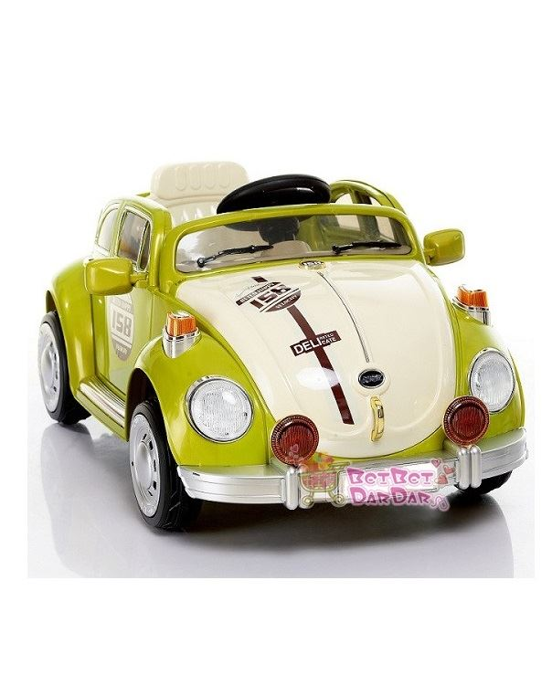 vw beetle style rechargeable battery powered car for kids btc 3