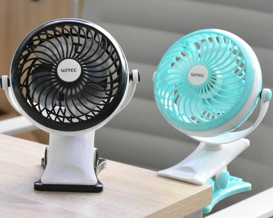 Vztec Cooler Portable Usb Fan Clip Desk Vz 2301 Warranty