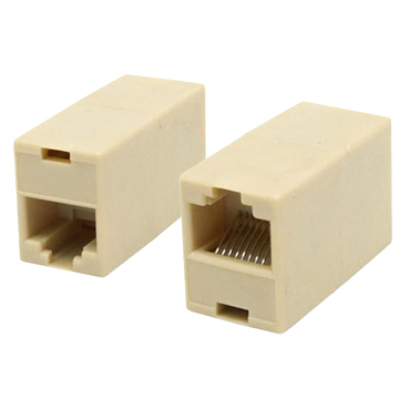 VZTEC RJ45 8PIN NETWORK CABLE CONNECTOR JOINTER COUPLER (OT030)