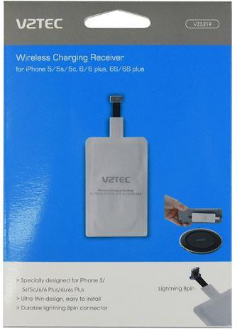 VZTEC WIRELESS CHARGING RECEIVER FOR IPHONE LIGHTNING (VZ3219)