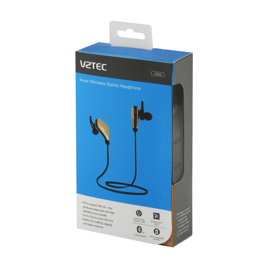 VZTEC WIRELESS SPORTS EARPHONE
