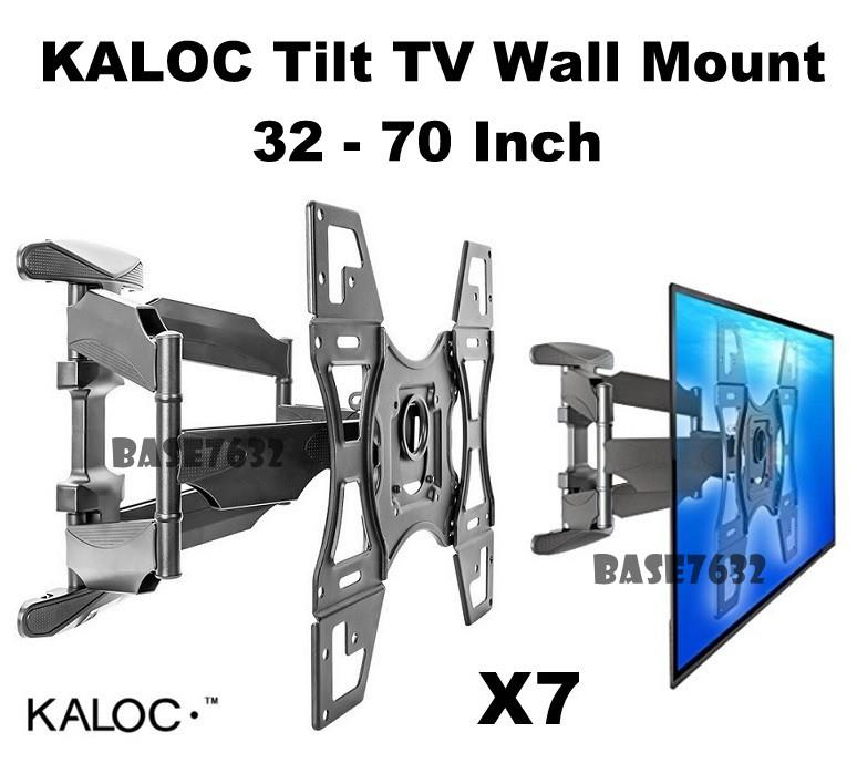 w/ Cover KALOC 32 to 70 TV Wall Bracket Holder Mount X7 2147.1