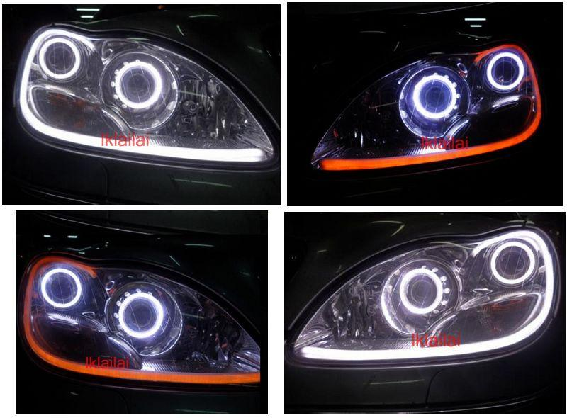 W220 Head Lamp Cool Starline DRL 2-Function [NO Head Lamp]