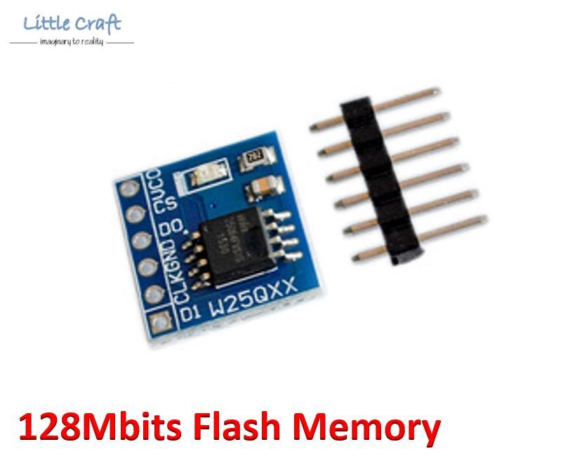 W25Q64 128Mbits 16MByte Flash Memory SPI Interface