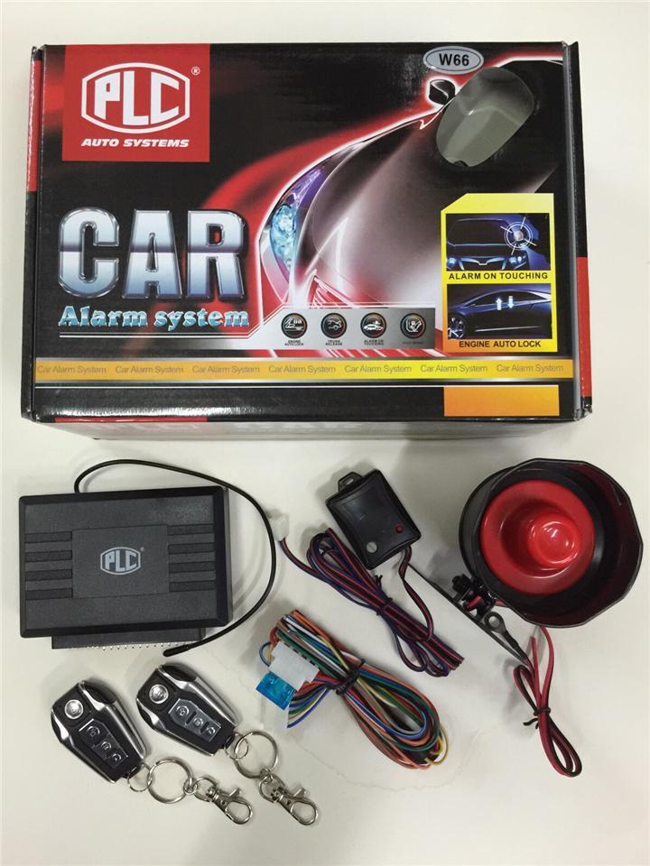 w68 plc car alarm system