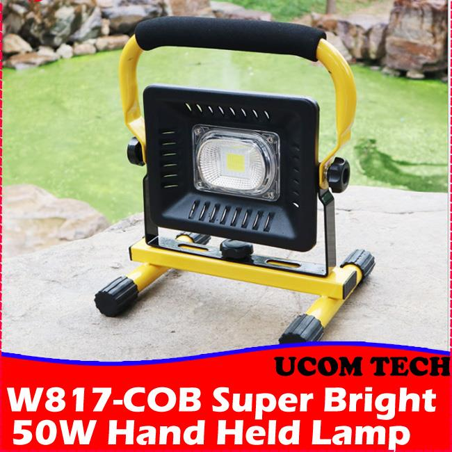 W817-COB Super Bright 50W Hand Held Lamp Torchlight Torch Light