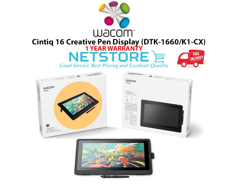 Wacom Cintiq 16 Creative Pen Display - DTK-1660/K1-CX