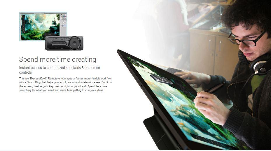 WACOM CINTIQ 27QHD DISPLAY GRAPHIC TABLET