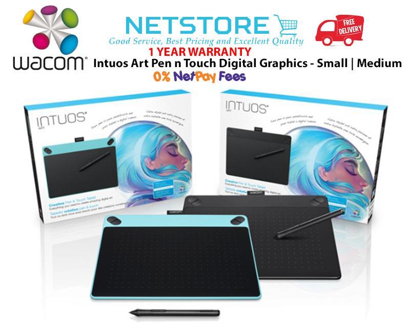 Wacom Intuos Art Pen and Touch Digital Graphics - Small   Medium