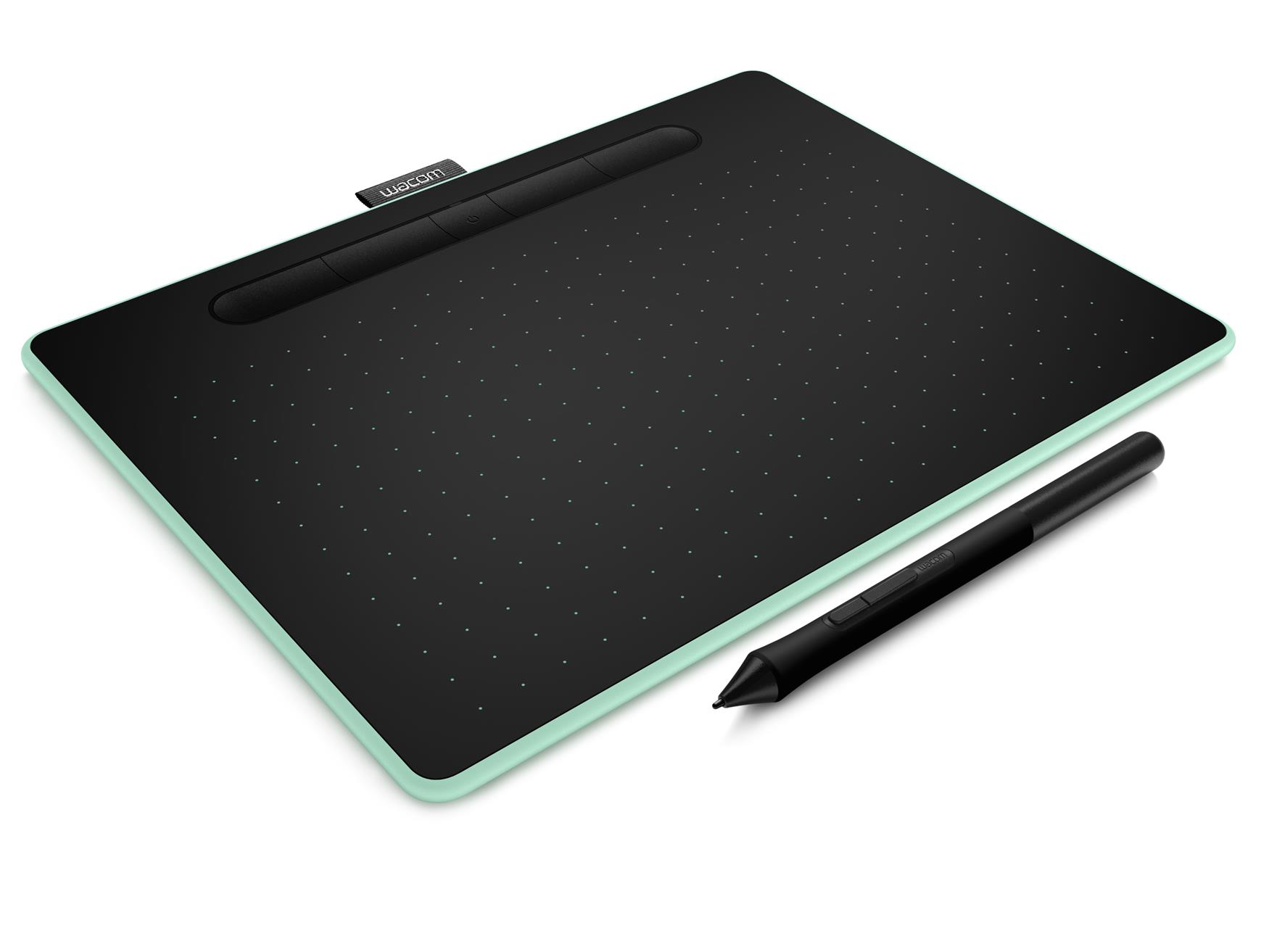 Wacom Intuos M Bluetooth Graphic Pen Tablet Pistachio CTL-6100WL/E0-CX