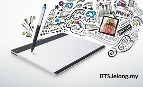 NEW GENERATION WACOM INTUOS & INTUOS PRO | JBC DEPOK TOWN SQUARE Intuos pen  n touch small CTH480 ...