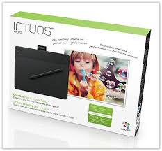 WACOM INTUOS PHOTO SMALL 6' x 3.7' TABLET (CTH-490/K2-CX) BLK